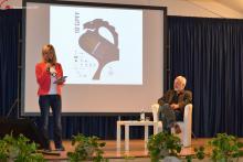 Luisa Vuillermoz e Francesco Bonami - Foto archivio FGP