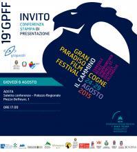 Invito - Conferenza stampa XIX GPFF